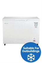 Fridgemaster MCF306 113cm White 302L Chest Freezer