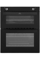 New World NW701GBLK Built-Under Twin Cavity Black Gas Oven