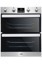 Belling BI702GSTA Stainless Steel Built-Under Double Gas Oven