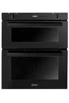 Stoves SGB700PSBLK Black Built-Under Double Gas Oven