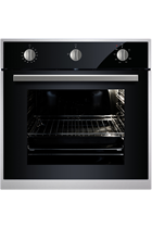 Culina UBGMM60SS Black Built-In Single Gas Oven