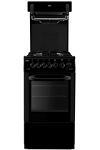 Beko BA52NEK Black Eye-Level Gas Cooker