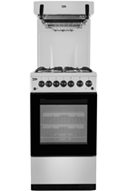 Beko BA52NES Freestanding Eye-Level Gas Cooker