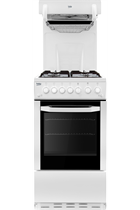 Beko BCEG501W Gas Cooker with Eye-Level Grill