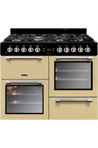 Leisure Cookmaster CK100G232C 100cm Cream Gas Range Cooker