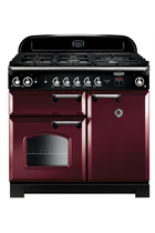 Rangemaster Classic CLA110NGFCY/C 110cm Cranberry Gas Range Cooker