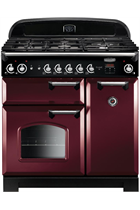 Rangemaster Classic CLA90NGFCY/C 90cm Cranberry Gas Range Cooker