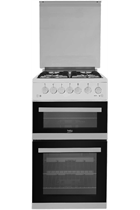 Beko EDVG505W Gas Double Oven