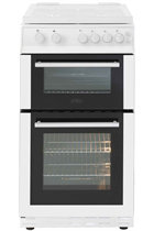 Belling FS50GTCL 50cm Twin Cavity Gas Cooker
