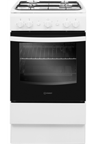 Indesit Cloe IS5G1KMW 50cm White Single Cavity Gas Cooker