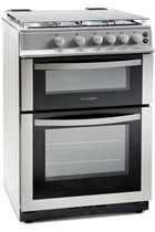 Montpellier MDG600LS 60cm Silver Gas Cooker