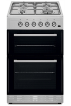 Simfer SCO52GX 50cm Stainless Steel Double Oven Gas Cooker