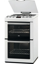 Zanussi ZCG552GWC White Gas Cooker