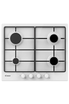 Candy CHW6BRWW 60cm White Built-In Gas Hob