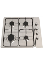 Montpellier GH60X 60cm Stainless Steel Gas Hob