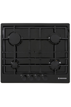 Hoover HGH64SCEB 60cm Black Built-In Gas Hob