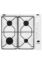 Indesit Aria PAA642IWH 60cm White Built-In Gas Hob