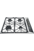 Hotpoint PAN642IXH 60cm Stainless Steel Built-In Gas Hob