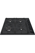 Hotpoint Newstyle PAS642HBK 58cm Black Built-In Gas Hob