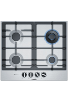 Bosch Serie 6 PCH6A5B90 60cm Stainless Steel Built-In Gas Hob