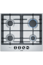 Bosch Serie 6 PCP6A5B90 60cm Stainless Steel Built-In Gas Hob