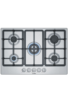 Bosch Serie 4 PGQ7B5B90 75cm Stainless Steel Built-In Gas Hob