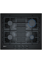 NEFF N70 T26CS49S0 59cm Black Built-In Gas Hob