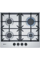 NEFF N70 T26DS49N0 60cm Stainless Steel Built-In Gas Hob