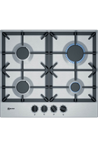 Neff T26DS49NO Stainless Steel Gas Hob