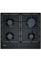 NEFF N70 T26DS49S0 58cm Black Built-In Gas Hob