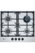 NEFF N70 T26DS59N0 58cm Stainless Steel Built-In Gas Hob