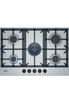 Neff T27DS59N0 Stainless Steel Gas Hob