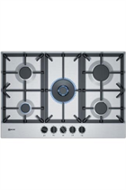 NEFF N70 T27DS59N0 75cm Stainless Steel Built-In Gas Hob