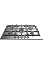 Indesit Aria THP751WIXI 75cm Stainless Steel Built-In Gas Hob