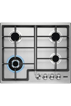 Zanussi ZGH66424XX 60cm Stainless Steel Built-In Gas Hob