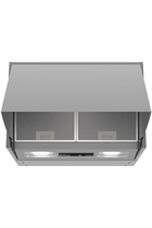 NEFF N30 D61MAC1X0B Silver 60cm Integrated Cooker Hood