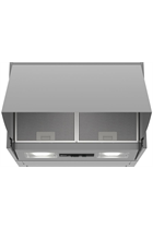 NEFF N30 D64MAC1X0B Silver 60cm Integrated Cooker Hood