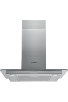 Indesit IHF6.5LMX Stainless Steel 60cm Chimney Hood