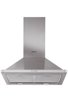 Hotpoint PHPN6.5FLMX Stainless Steel 60cm Chimney Hood