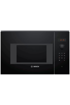 Bosch Serie 4 BFL523MB0B Built-In Black 800W 20L Microwave