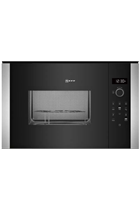 NEFF N50 HLAGD53N0B Built-In Black 900W 25L Microwave with Grill