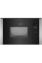 NEFF N50 HLAWD23N0B Built-In Black 800W 20L Microwave