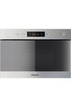 Hotpoint Class 3 MN314IXH Built-In Stainless Steel 750W 22L Microwave with Grill