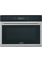 Hotpoint Class 6 MP676IXH Built-In Black 900W 20L Combination Microwave