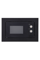 Montpellier MWBI20BK Built-In Black 800W 20L Microwave