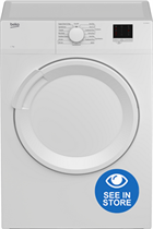 Beko DTLV70041W White 7kg Vented Tumble Dryer