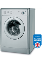 Indesit Eco Time IDV75S Silver 7kg Vented Tumble Dryer