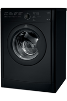 Indesit Eco Time IDVL75BRK Black 7kg Vented Tumble Dryer