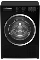 Blomberg LTK2803B 8KG Black Condenser Tumble Dryer