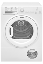 Hotpoint Aquarius TCFS83BGP White 8kg Condenser Dryer